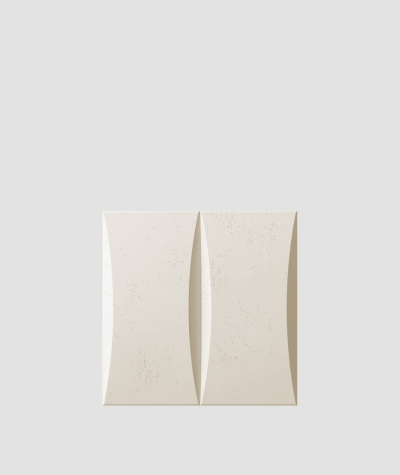 PB20 (KS ivory) BLOCK - 3D architectural concrete decor panel