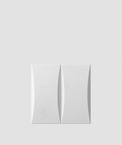 PB20 (S50 light gray 'mouse') BLOCK - 3D architectural concrete decor panel