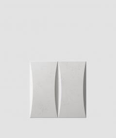PB20 (S51 dark gray 'mouse') BLOCK - 3D architectural concrete decor panel