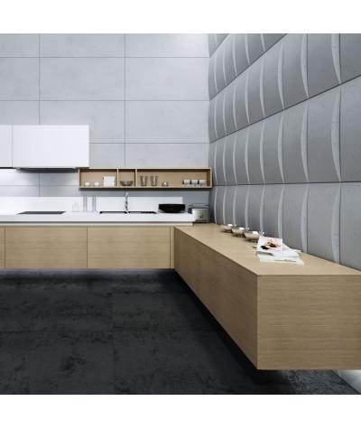 PB20 (S95 light gray 'dove') BLOCK - 3D architectural concrete decor panel