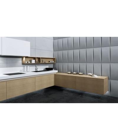VT - PB20 (S96 ciemny szary) BLOK - panel dekor 3D beton architektoniczny
