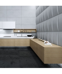 VT - PB20 (B8 anthracite) BLOCK - 3D architectural concrete decor panel