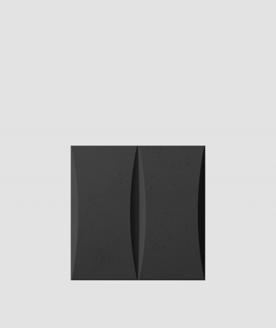 PB20 (B15 black) BLOCK - 3D architectural concrete decor panel