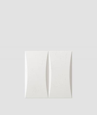 PB20 (BS snow white) BLOCK - 3D architectural concrete decor panel