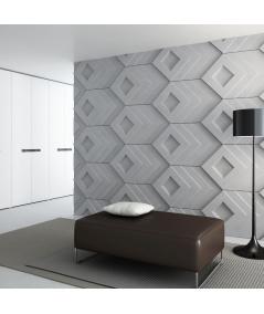 PB21 (B0 white) Slab - 3D architectural concrete decor panel