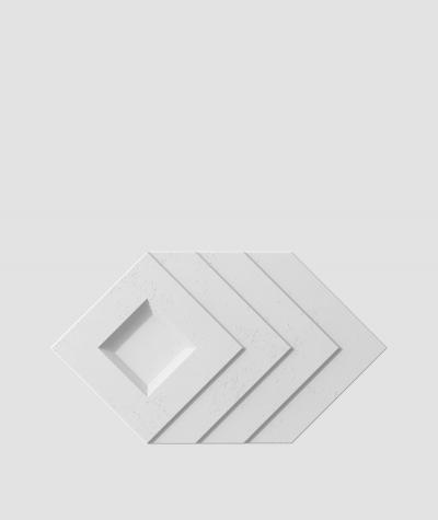 VT - PB21 (S50 jasny szary 'mysi') Slab - panel dekor 3D beton architektoniczny