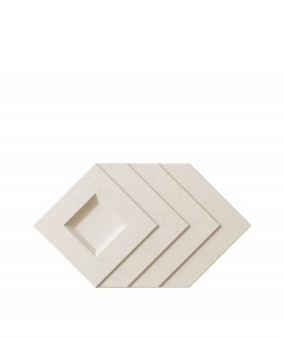 VT - PB21 (KS kość słoniowa) Slab - panel dekor 3D beton architektoniczny