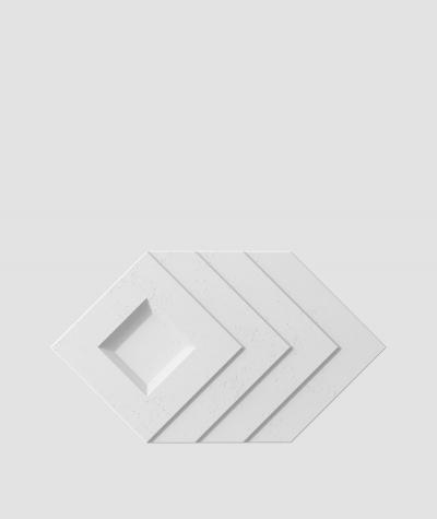 PB21 (B1 gray white) Slab - 3D architectural concrete decor panel