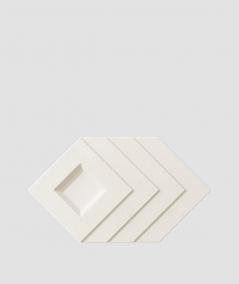 VT - PB21 (B0 biały) Slab - panel dekor 3D beton architektoniczny