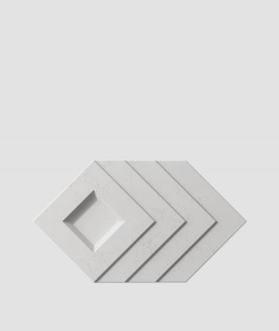 VT - PB21 (S51 ciemny szary 'mysi') Slab - panel dekor 3D beton architektoniczny