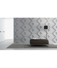VT - PB21 (B15 black) Slab - 3D architectural concrete decor panel