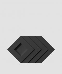 VT - PB21 (B15 czarny) Slab - panel dekor 3D beton architektoniczny