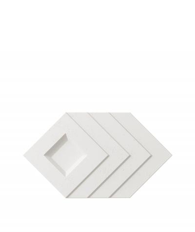 VT - PB21 (BS śnieżno biały) Slab - panel dekor 3D beton architektoniczny