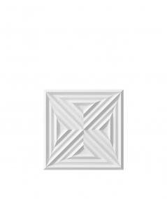 VT - PB22  (B1 siwo biały) Slab 2 - panel dekor 3D beton architektoniczny
