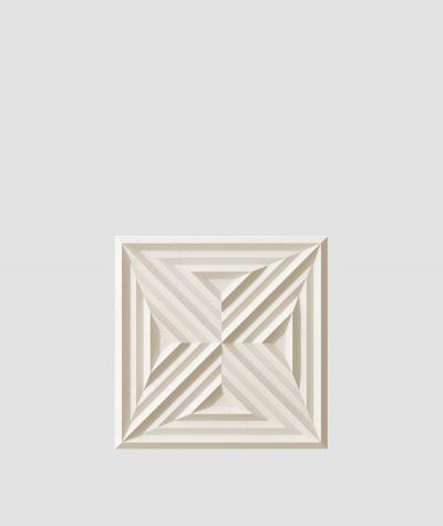 VT - PB22 (KS kość słoniowa) Slab 2 - panel dekor 3D beton architektoniczny