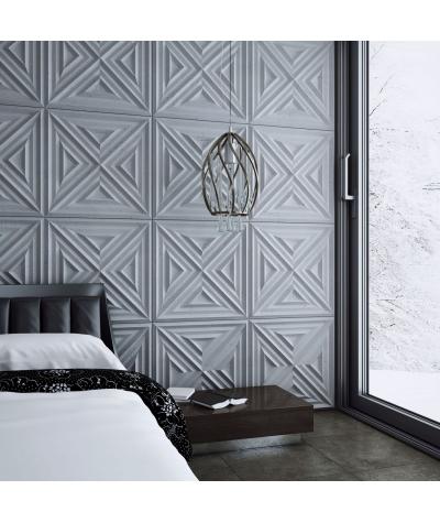 VT - PB22 (S50 light gray - mouse) Slab 2 - 3D architectural concrete decor panel