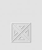 VT - PB22 (S50 jasny szary - mysi) Slab 2 - panel dekor 3D beton architektoniczny