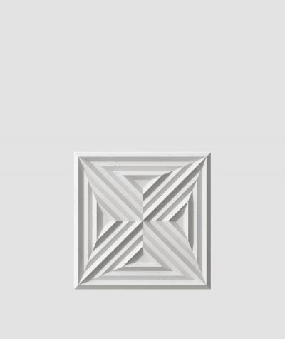 VT - PB22 (S51 ciemny szary 'mysi') Slab 2 - panel dekor 3D beton architektoniczny