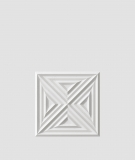 VT - PB22 (S95 jasny szary - gołąbkowy) Slab 2 - panel dekor 3D beton architektoniczny