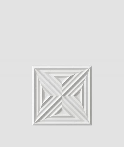 VT - PB22 (S95 light gray - dove) Slab 2 - 3D architectural concrete decor panel