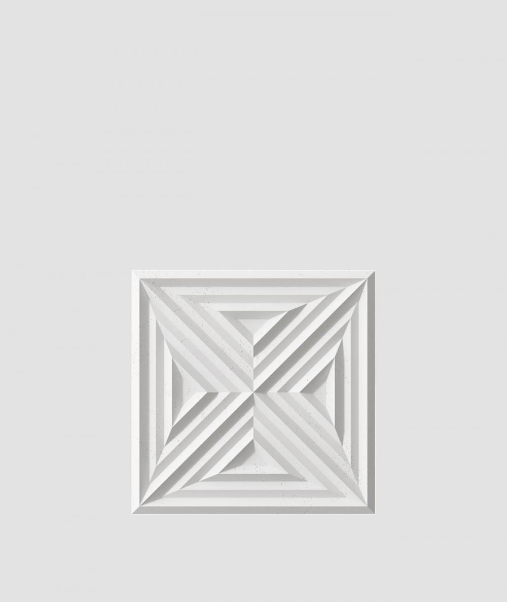 VT - PB22 (S95 jasny szary 'gołąbkowy') Slab 2 - panel dekor 3D beton architektoniczny