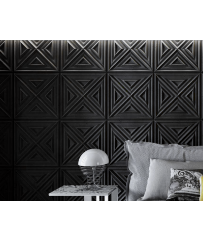 PB22 (B8 anthracite) Slab 2 - 3D architectural concrete decor panel
