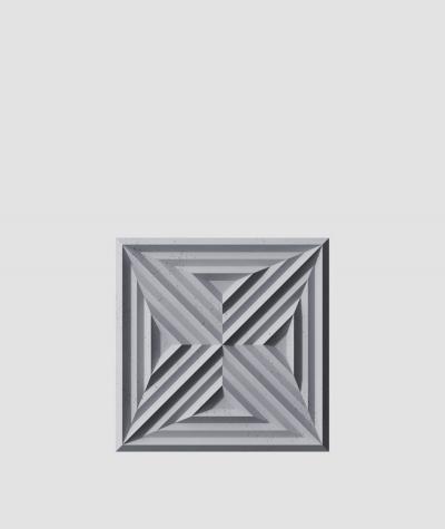 VT - PB22 (B8 anthracite) Slab 2 - 3D architectural concrete decor panel