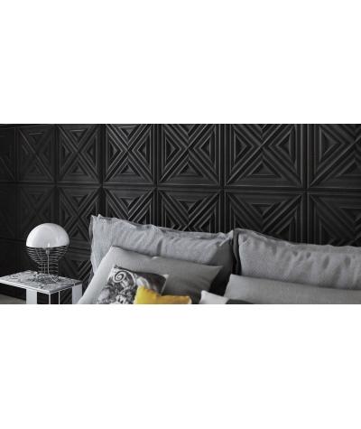 VT - PB22 (B15 czarny) Slab 2 - panel dekor 3D beton architektoniczny