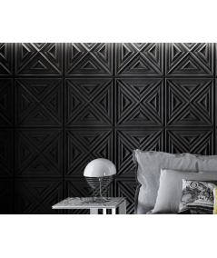PB22 (B15 black) Slab 2 - 3D architectural concrete decor panel