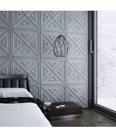 VT - PB22 (BS snow white) Slab 2 - 3D architectural concrete decor panel