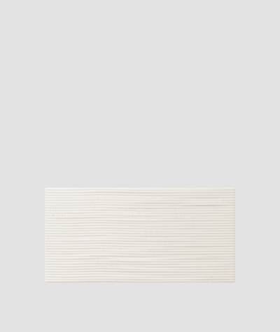 PB23 (B0 white) Wave 2 - 3D architectural concrete decor panel