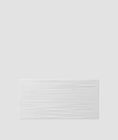 VT - PB23 (B1 siwy biały) Fala 2 - panel dekor 3D beton architektoniczny