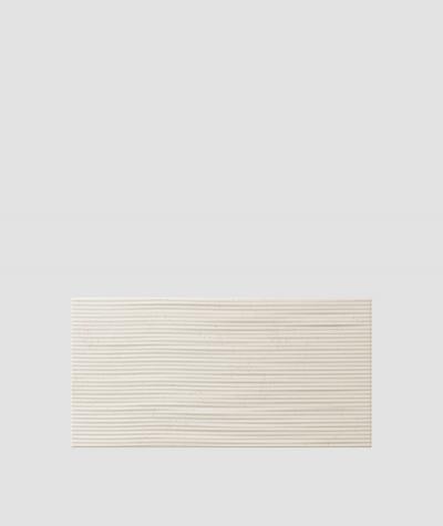 PB23 (KS ivory) Wave 2 - 3D architectural concrete decor panel