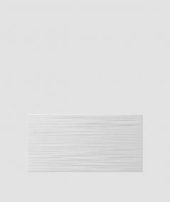 VT - PB23 (S50 jasny szary 'mysi') Fala 2 - panel dekor 3D beton architektoniczny
