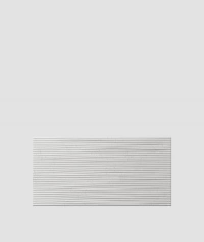 PB23 (S51 dark gray 'mouse') Wave 2 - 3D architectural concrete decor panel