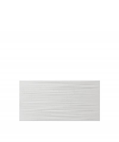 VT - PB23  (S95 jasny szary 'gołąbkowy') Fala 2 - panel dekor 3D beton architektoniczny