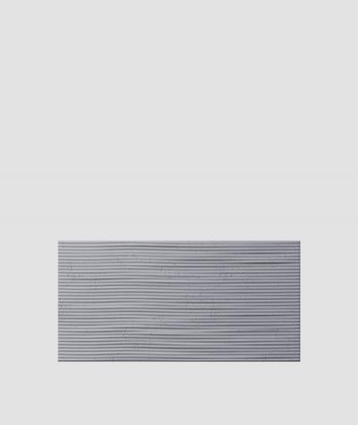 PB23 (B8 anthracite) Wave 2 - 3D architectural concrete decor panel