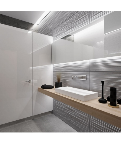 VT - PB23 (B15 black) Wave 2 - 3D architectural concrete decor panel
