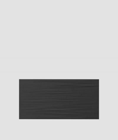 PB23 (B15 black) Wave 2 - 3D architectural concrete decor panel