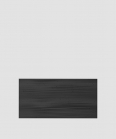 VT - PB23  (B15 czarny) Fala 2 - panel dekor 3D beton architektoniczny