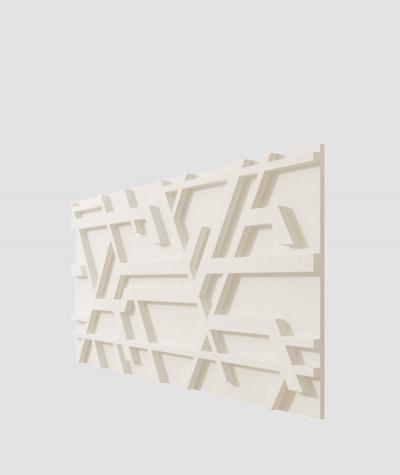 PB27 (B0 white) Kor - 3D architectural concrete decor panel