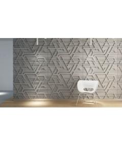 VT - PB27 (S50 light gray - mouse) Kor - 3D architectural concrete decor panel