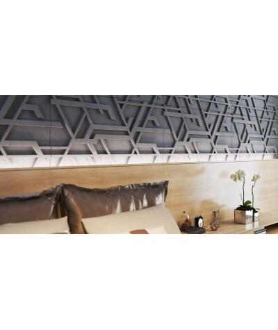 PB27 (S51 dark gray 'mouse') Kor - 3D architectural concrete decor panel