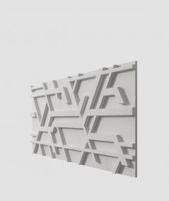 VT - PB27 (S51 ciemny szary 'mysi') Kor - panel dekor 3D beton architektoniczny