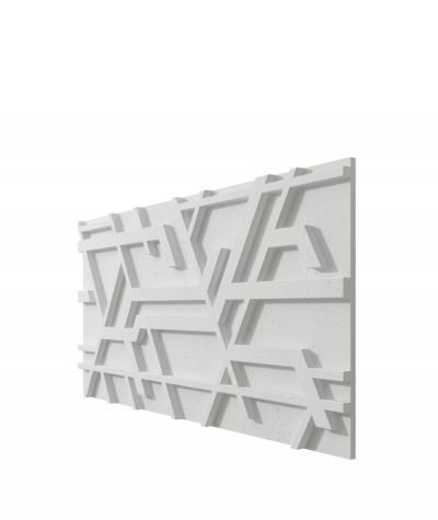 VT - PB27 (S95 jasny szary - gołąbkowy) Kor - panel dekor 3D beton architektoniczny