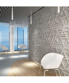 VT - PB27 (S96 dark gray) Kor - 3D architectural concrete decor panel