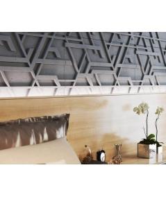 PB27 (S96 dark gray) Kor - 3D architectural concrete decor panel