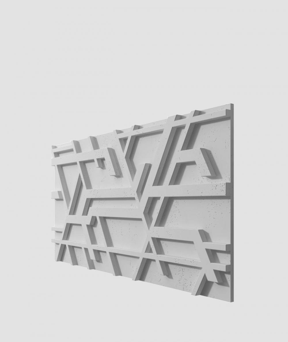 VT - PB27 (S96 ciemny szary) Kor - panel dekor 3D beton architektoniczny