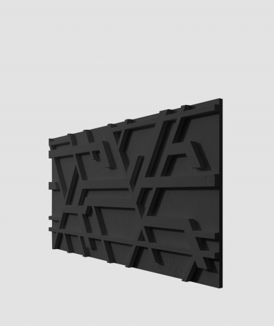 PB27 (B15 black) Kor - 3D architectural concrete decor panel