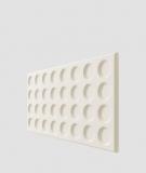 VT - PB28 (B0 biały) Grid - panel dekor 3D beton architektoniczny